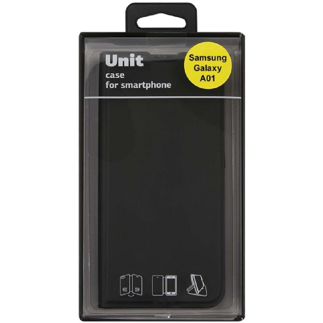 Чехол-книжка Red Line Unit для Samsung Galaxy A01 (черный)(006178) - фото 4