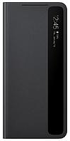 Чехол для Galaxy S21 Smart Clear View Cover EF-ZG991CBEGRU, black