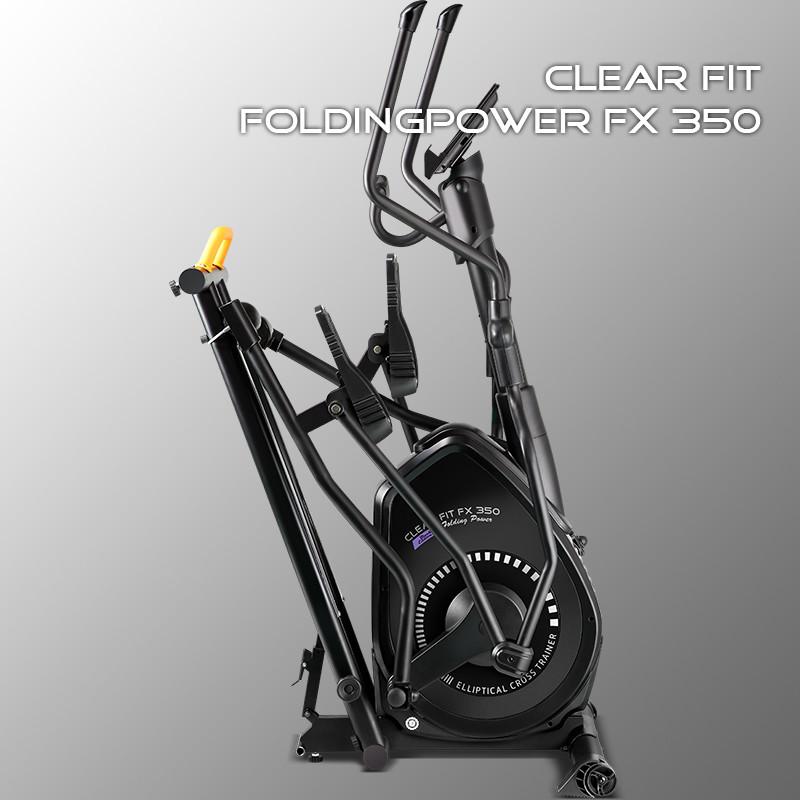 Складной эллиптический тренажер Clear Fit FoldingPower FX 350