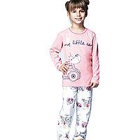 Пижама детская девичья 6/116 см/Розовый