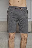 Капри домашние мужские XL/50-52, Тёмно-серый