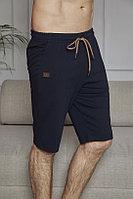 Капри домашние мужские XL/50-52, Тёмно-синий