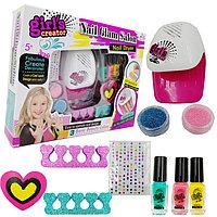 """Игровой набор с сушкой Салон ногтей """"Nail Glam Salon"""""""