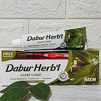 Зубная паста с нимом для десен Дабур Хербл (Gum Care Neem toothpaste, Dabur Herb'l) 150 гр
