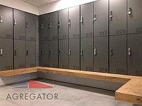 шкафчики для раздевалок из hpl...
