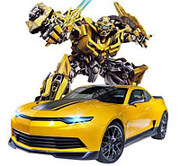 Машинка трансформер Робот Воин Бамблби (Bumblebee)