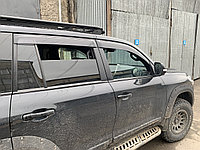 Ветровики /дефлекторы/ на Toyota Land Cruiser 200 Тойота Ленд крузер 200