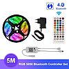 Музыкальный контроллер c bluetooth и пультом + 5 метров RGB ленты + блок питания
