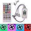 Музыкальный RGB контроллер c bluetooth и пультом для ленты 5050 2835 3528