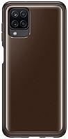 Чехол для Galaxy A12 Soft Clear Cover EF-QA125TBEGRU