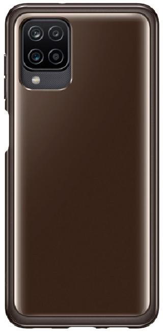 Чехол для Galaxy A12 Soft Clear Cover EF-QA125TBEGRU - фото 1