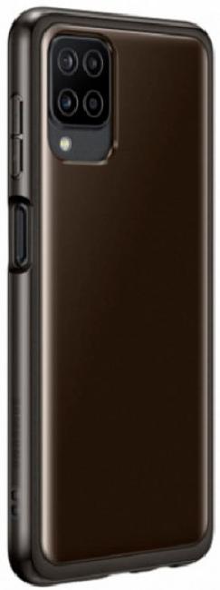 Чехол для Galaxy A12 Soft Clear Cover EF-QA125TBEGRU - фото 2