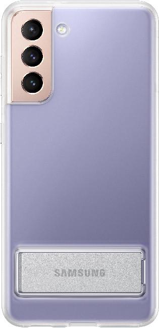 Чехол для Galaxy S21 Clear Standing Cover EF-JG991CTEGRU, transparent - фото 2