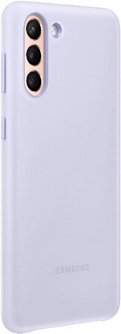 Чехол для Galaxy S21 Plus Smart LED Cover EF-KG996CVEGRU, violet - фото 3