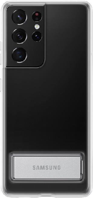 Чехол для Galaxy S21 Ultra Clear Standing Cover EF-JG998CTEGRU, transparent - фото 2