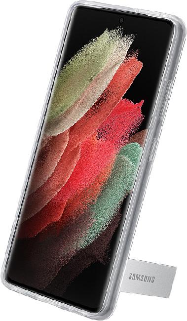 Чехол для Galaxy S21 Ultra Clear Standing Cover EF-JG998CTEGRU, transparent - фото 3