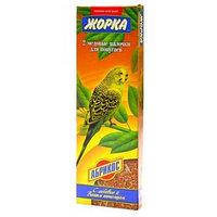 Медовые палочки с абрикосом для волнистых попугаев, Жорка, 2х80гр.