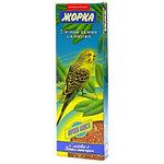 Медовые палочки с морской капустой для волнистых попугаев, Жорка, 2х80гр.