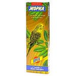 Медовые палочки с орехами для волнистых попугаев, Жорка, 2х80гр.