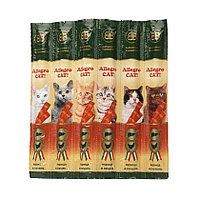 Allegro Cat, курица и печень, колбаски для кошек, 5гр.