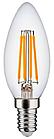 LED Лампа Dauscher Filament C35 8W E14 4000К Нейтральный цвет