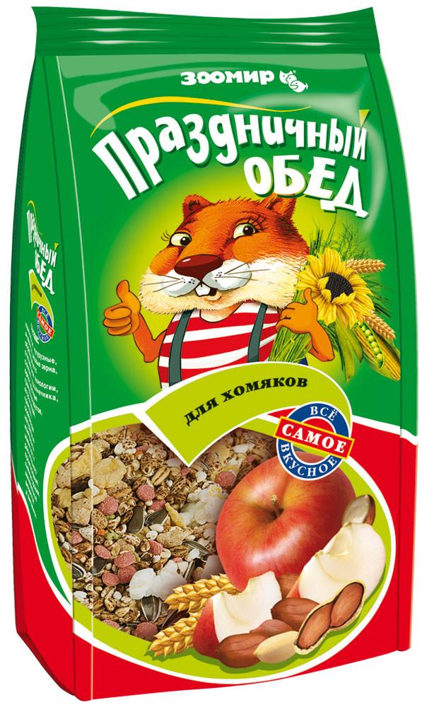 Корм для хомяков Зоомир Праздничный обед