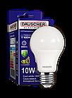 LED Лампа Dauscher A60 10W E27 6400K 90lm/w Холодный цвет