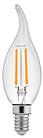 LED Лампа Dauscher Filament C37 8W E14 4000К Нейтральный цвет