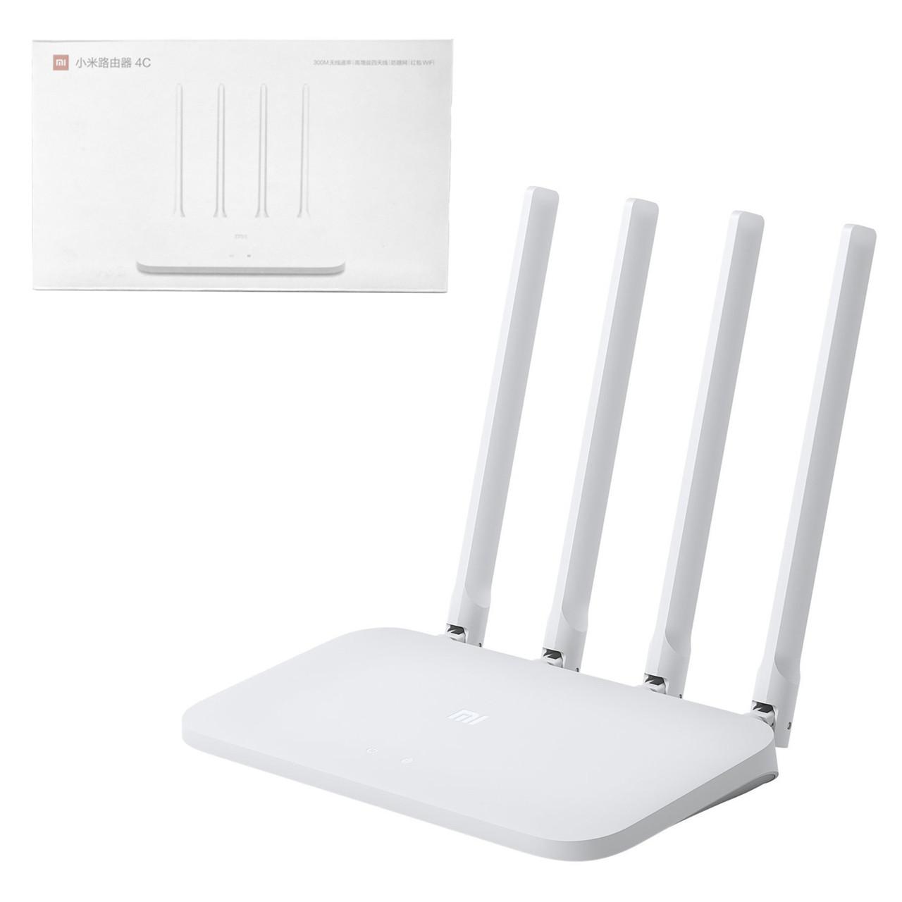 Маршрутизатор Xiaomi Mi WiFi Router 4 , White