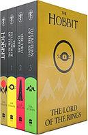 """Комплект из четырех книг на английском языке """"THE LORD OF THE RINGS. THE HOBBIT"""", Мягкий переплет"""