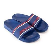 Пантолеты (слайдеры) мужские пляжные BM197573 цвет синий, р-р 45