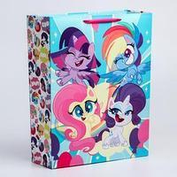 Пакет ламинат вертикальный 'Super cute!', 31х40х11 см, My Little Pony
