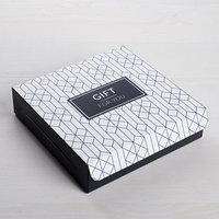 Коробка складная For you, 14 x 14 x 3,5 см (комплект из 5 шт.)