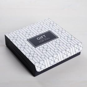 Коробка складная For you, 14 x 14 x 3,5 см (комплект из 5 шт.) - фото 1
