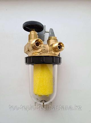 """Топливный фильтр Oventrop 3/8"""" (подача - обратка) для дизельных горелок, фото 2"""