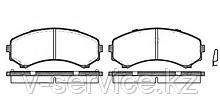 Тормозные колодки YOTO G-209(MD 6085)(REMSA 396.00)