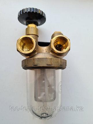 """Топливный фильтр Oventrop 1/2"""" (подача - обратка) для дизельных горелок, фото 2"""