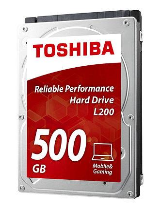 "Жесткий диск для ноутбука 500Gb TOSHIBA SATA 6Gb 2.5"" 5400rpm 8Mb Толщина 7мм HDWK105UZSVA, фото 2"