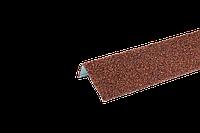 Наличник оконный метал. c базальтовой крошкой