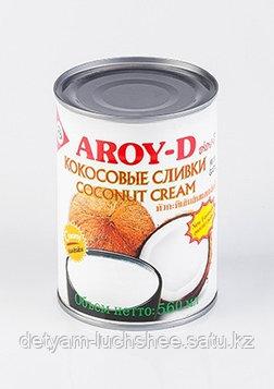 Сливки Кокосовые 85% (жирность 20-22%), Aroy-D, 560мл