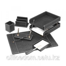 Настольный набор Forofis, 7 предметов, черный (ПВХ)