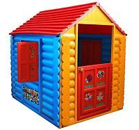 Детский домик Лесной Умные липучки 511 Желто-синий