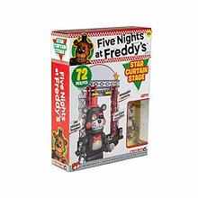 "Five Nights at Freddy's Конструктор ""Сцена со звёздным занавесом"", 72 детали"