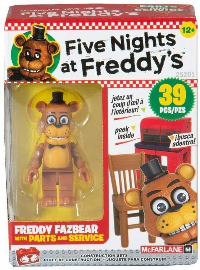 Five Nights at Freddy's Конструктор Минифигурка Фредди Фазбер, 39 детали