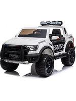 Детский электромобиль Ford Raptor Ranger Police F150R White белый / детская электромашина /купить детскую эл, фото 1