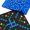 Настольная игра Эрудит. Синие фишки, 7+, фото 2