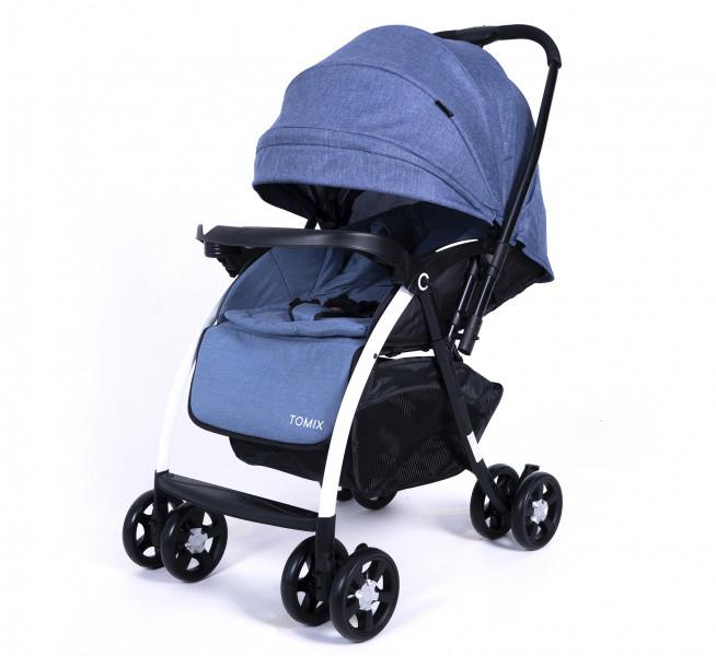 Прогулочная коляска Tomix Carry, Синяя