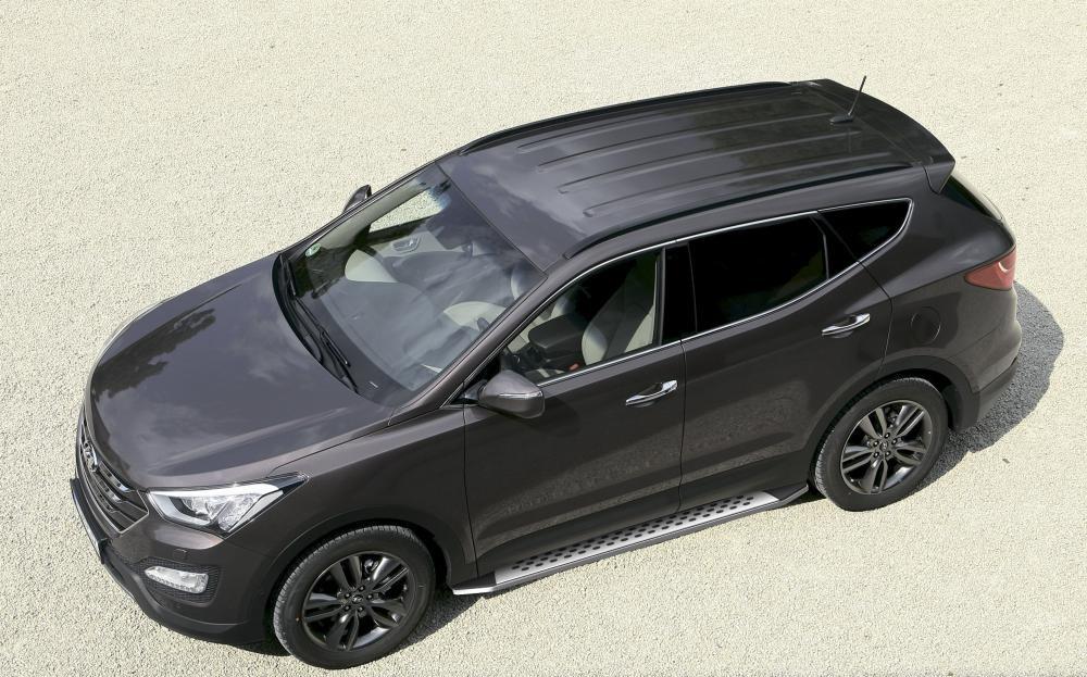 "Пороги ""Bmw-Style"" Hyundai Santa Fe (2006-2012)"
