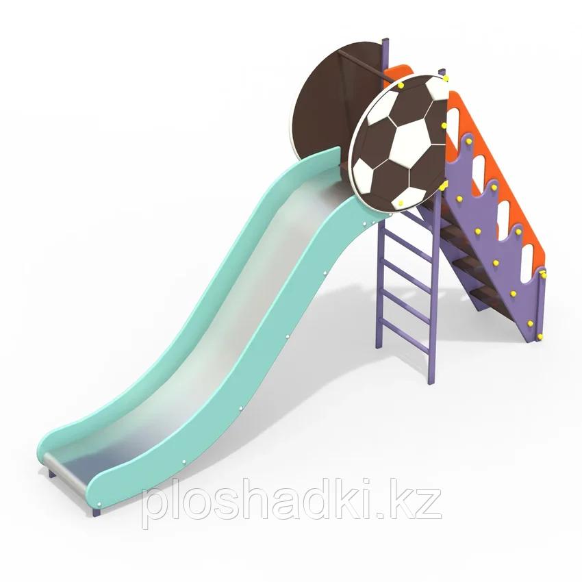 Горка высокая Мяч
