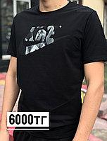 Футболка Nike чер сер лого 6927-1, фото 1